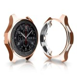 TPU Plated Shockproof Case for Samsung Gear S3 Frontier Smartwatch 42mm (Rose Gold)