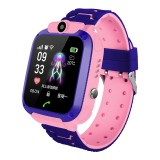 Q12 1.44 inch Color Screen Smartwatch for Children IP67 Waterproof, Support LBS Positioning / Two-way Dialing / One-key First-aid / Voice Monitoring / Setracker APP (Pink)