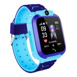 Q12 1.44 inch Color Screen Smartwatch for Children IP67 Waterproof, Support LBS Positioning / Two-way Dialing / One-key First-aid / Voice Monitoring / Setracker APP (Blue)