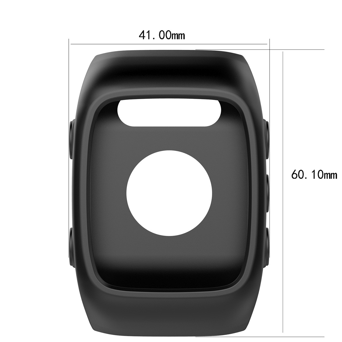 Smart Watch Silicone Protective Case for POLAR M430 (Rose Red)