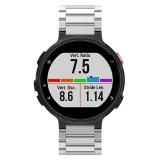 Universal Smart Watch Three Steel Strips Wrist Strap Watchband for Garmin Forerunner 220 / 230 / 235 / 630 / 620 / 735 (Silver)