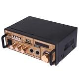 BT-118 Bluetooth HiFi Stereo Audio Amplifier with Remote Controller, LED Display, USB / SD & MMC Card / MP3 / AUX / FM, AC 220V / DC 12V, EU Plug
