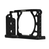ADAI Camera Video Aluminum Alloy Cage Stabilizer for Sony A6300 / A6500 / A6400 / A6000 / A5000 (Black)