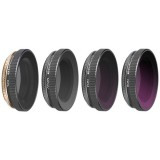 4 in 1 Sunnylife OA-FI177 MCUV+CPL+ND4+ND8 Lens Filter for DJI OSMO ACTION