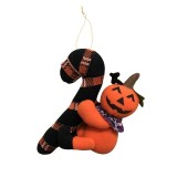 CX189008 Halloween Creative Hanging Dolls Gifts Plush Pendant Decorative Props (Pumpkin)