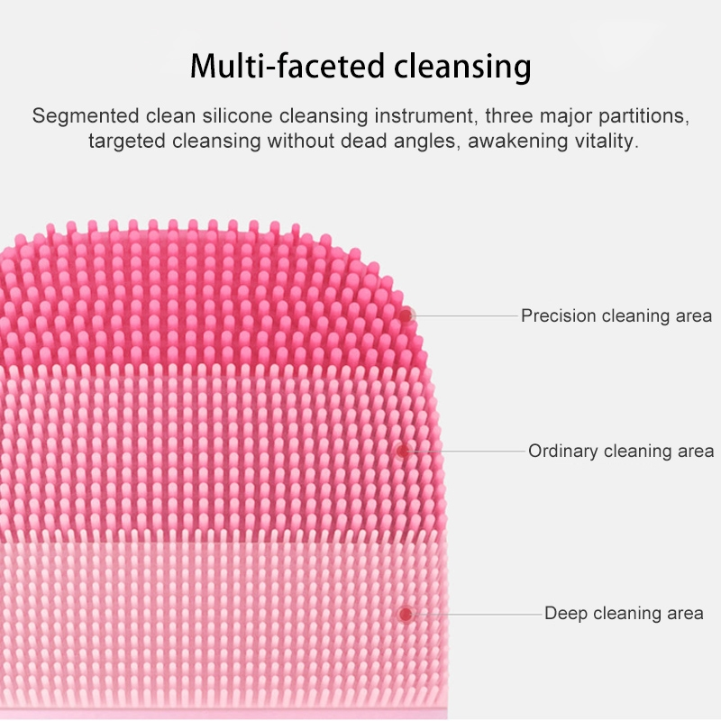 Original Xiaomi inFace Face Skin Care Acoustic Wave Electric Facial Cleaner (Pink)
