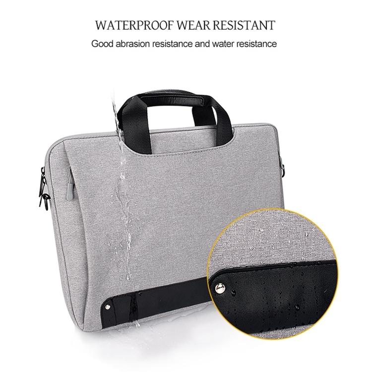 with Suitcase Belt Durable Color : Pink Waterproof Tear Resistance Hidden Portable Strap One-Shoulder Handbag for 13.3 inch Laptops