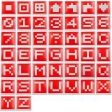 STARTRC 1105731 Dedicated Visual Identification Card Shooting Target Set for DJI RoboMaster S1