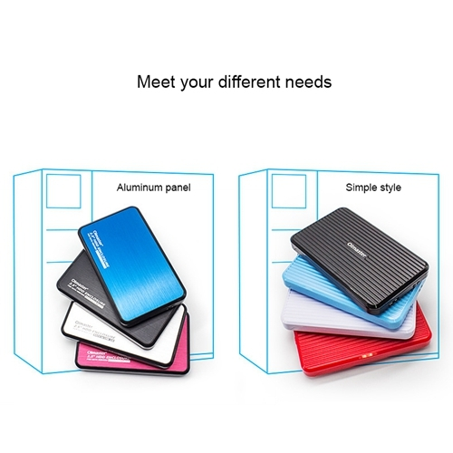 Easy to Carry. EB-2506U3 SATA USB 3.0 Interface Aluminum Panel HDD Enclosure for Laptops Support Thickness: 7.0-12.5mm ,Stylish and Compact Black Lekai Multifunctional Meet Different Needs
