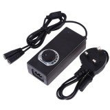 PULUZ Constant Current LED Power Supply Power Adapter for 60cm Studio Tent, AC 100-240V to DC 12V 3A (UK Plug)