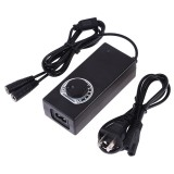 PULUZ Constant Current LED Power Supply Power Adapter for 60cm Studio Tent, AC 100-240V to DC 12V 3A (US Plug)