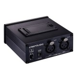 Earphone Nonitor Signal Amplifier, Dual XLR Input, Mono or Stereo Input or Switch Stereo Mixing