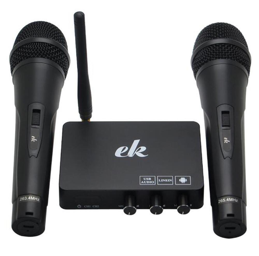 Home TV Network Karaoke Singing Equipment Set Sound Card Wireless Microphone Computer Karaoke KTV Set-top Box