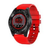 L9 1.5 inch TFT Color Screen Smart Watch,Support SIM Card /32GB TF Card /Remote Camera Function/Sleep Monitoring/Sedentary Reminder (Red)
