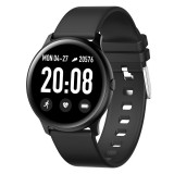 KW19 1.3 inch TFT Color Screen Smart Watch,Support Call Reminder / Heart Rate Monitoring/Blood Pressure Monitoring/Sleep Monitoring/Blood Oxygen Monitoring (Black)