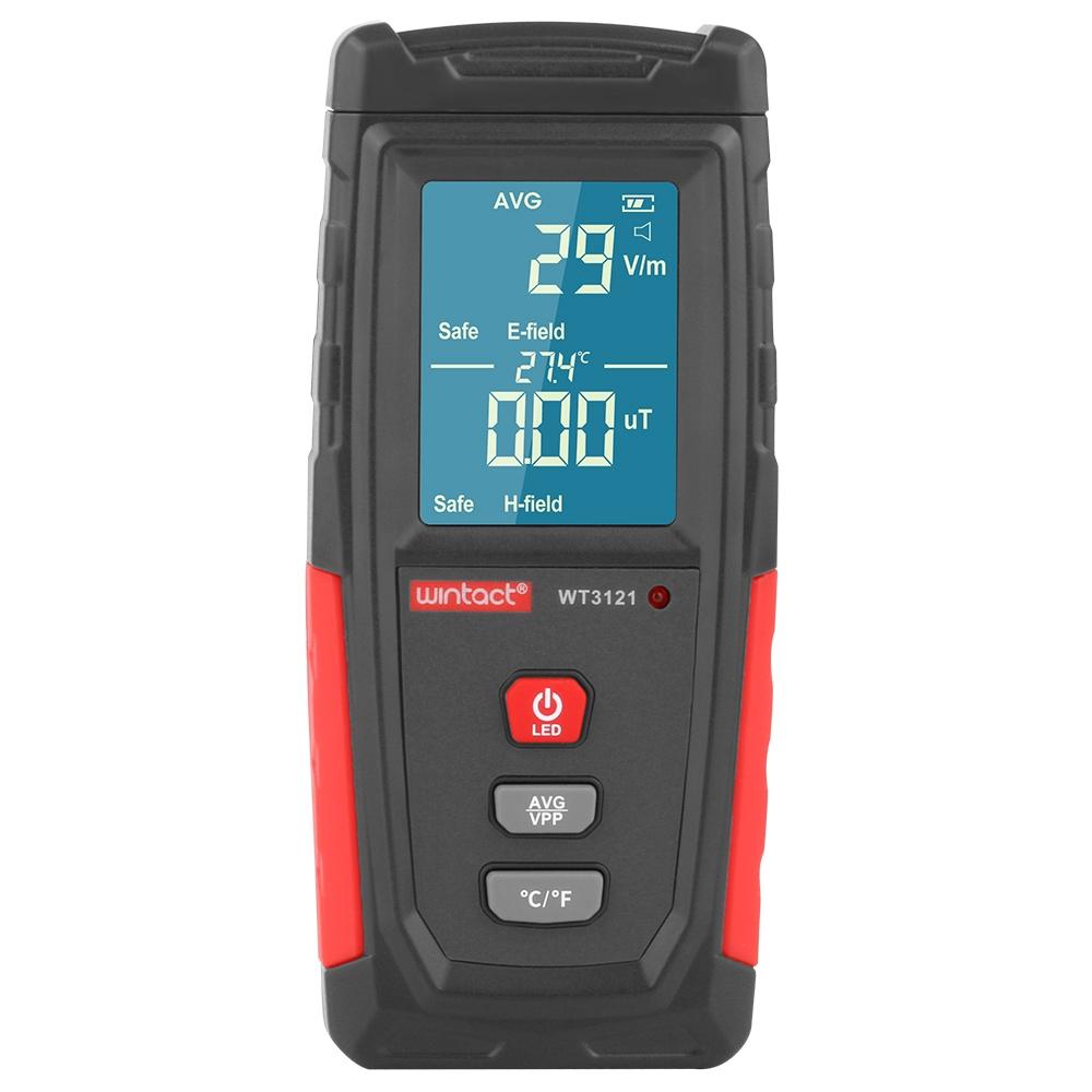 WT3121 Electromagnetic Radiation Tester Household Appliances Radiation Detector Electromagnetic Radiation Meter