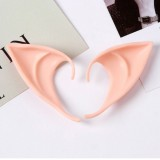 1 Pair Halloween Party Elven Elf Ears Anime Fairy Cospaly Costumes Vampire Latex (Short)