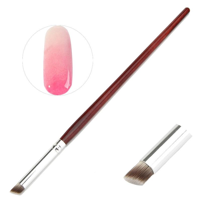 3 PCS Nail Art Acrylic Crystal Polish UV Gel Gradual Drawing Brush Flower Gradient Painting Pen Manicure Tool