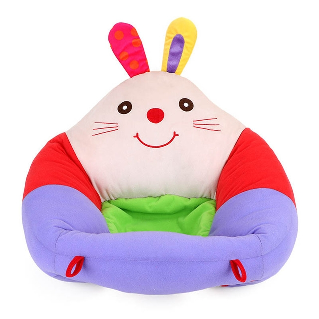 Baby Seats Sofa Support Seat Baby Plush Support Chair Learning To Sit Soft Plush Toys Travel Car Seat (Rabbit plush sofa)