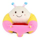 Baby Seats Sofa Support Seat Baby Plush Support Chair Learning To Sit Soft Plush Toys Travel Car Seat (Bee plush sofa)