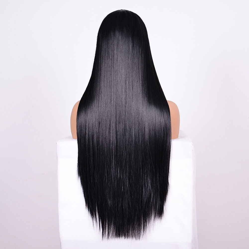Straight Lace Front Human Hair Wigs, Stretched Length: 14 inches, Style: 2