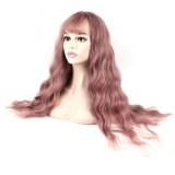 Fluffy Long Curly Hair Mix Womens Wigs