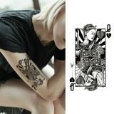 2 PCS Small Full Arm Temporary Waterproof Tattoo Stickers (xqb001)