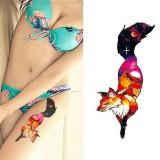 2 PCS Small Full Arm Temporary Waterproof Tattoo Stickers (xqb010)