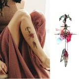 2 PCS Small Full Arm Temporary Waterproof Tattoo Stickers (xqb003)