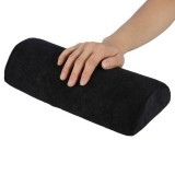 5 PCS Soft Hand Rests Washable Hand Cushion Sponge Pillow Holder Arm Rests Nail Art Manicure Hand Pillow Cushion (Black)