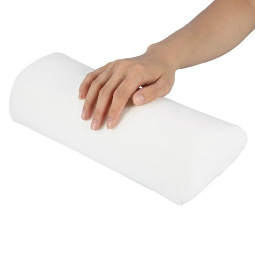 5 PCS Soft Hand Rests Washable Hand Cushion Sponge Pillow Holder Arm Rests Nail Art Manicure Hand Pillow Cushion (White)