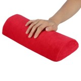 5 PCS Soft Hand Rests Washable Hand Cushion Sponge Pillow Holder Arm Rests Nail Art Manicure Hand Pillow Cushion (Red)