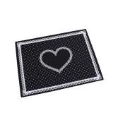 Nail Art Salon Manicure Silicone Pillow Hand Holder Cushion Lace Table Washable Foldable Mat (Black)