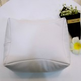 Nail Art Hand Rest Cushion Pillow Soft PU Leather Foot Hand Holder Manicure Nail Art Equipment (White)