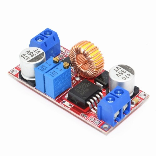 XL4015 High Current 5A Constant Current And Constant Voltage LED Drive Lithium-ion Battery Charging Power Module (Red)