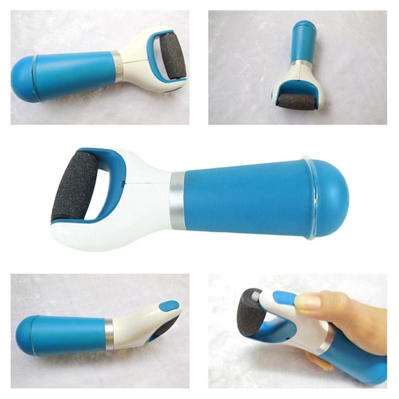 2 PCS Foot Care Pedicure Electric Grinding Foot Pedicure Dead Skin Tool (Blue)