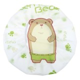 5 PCS Cute Cartoon Women Kids Shower Caps Colorful Bath Shower Hair Cover Adults Waterproof Bathing Spa Cap (Bear)