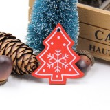 3 PCS DIY Wooden Crafts Pendants Ornaments For Christmas Party Xmas Tree Ornaments (Tree 02)