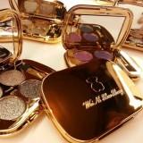 Professional Eye Makeup Eyeshadow Palette Gold Smoky Cosmetics Makeup Palette Diamond Bright Glitter Eye Shadow (4)