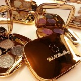 Professional Eye Makeup Eyeshadow Palette Gold Smoky Cosmetics Makeup Palette Diamond Bright Glitter Eye Shadow (5)