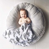 Baby Bean Bag Chair Infantil Feeding Chair Multi-function Nursling Baby Car Seat Children Seat Sofa (Gray)