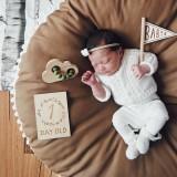 Baby Bean Bag Chair Infantil Feeding Chair Multi-function Nursling Baby Car Seat Children Seat Sofa (Coffee)