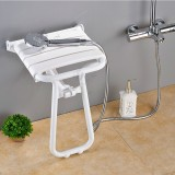 Folding Solid Wood Wall Mounted Relaxation Shower Chair