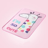 Baby Diapers Mattress Changing Pads Covers Breathable Diapers for Newborns Cartoon Pattern Waterproof Changing Mat 30*45cm (Rainbow Fawn)