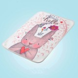 Baby Diapers Mattress Changing Pads Covers Breathable Diapers for Newborns Cartoon Pattern Waterproof Changing Mat 30*45cm (Rabbit garden)