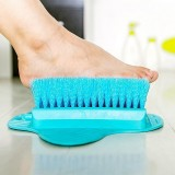 2 PCS Adult Foot Massage Brush Bath Blossom Foot Scrub Brush Remove Feet Dead Skin Cleaning Brush (Random Color)