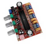 LDTR-WG0197 2.1 Channel Digital Amplifier Board Module with 12V-24V Wide Voltage, TPA3116D2, 50W+50W+100W (Red)