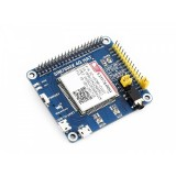 Waveshare 4G / 3G / GNSS HAT for Raspberry Pi, LTE CAT4, for North America