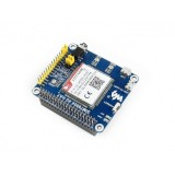 Waveshare 4G / 3G / 2G / GSM / GPRS / GNSS HAT for Raspberry Pi, LTE CAT4, for Southeast Asia, West Asia, Europe, Africa