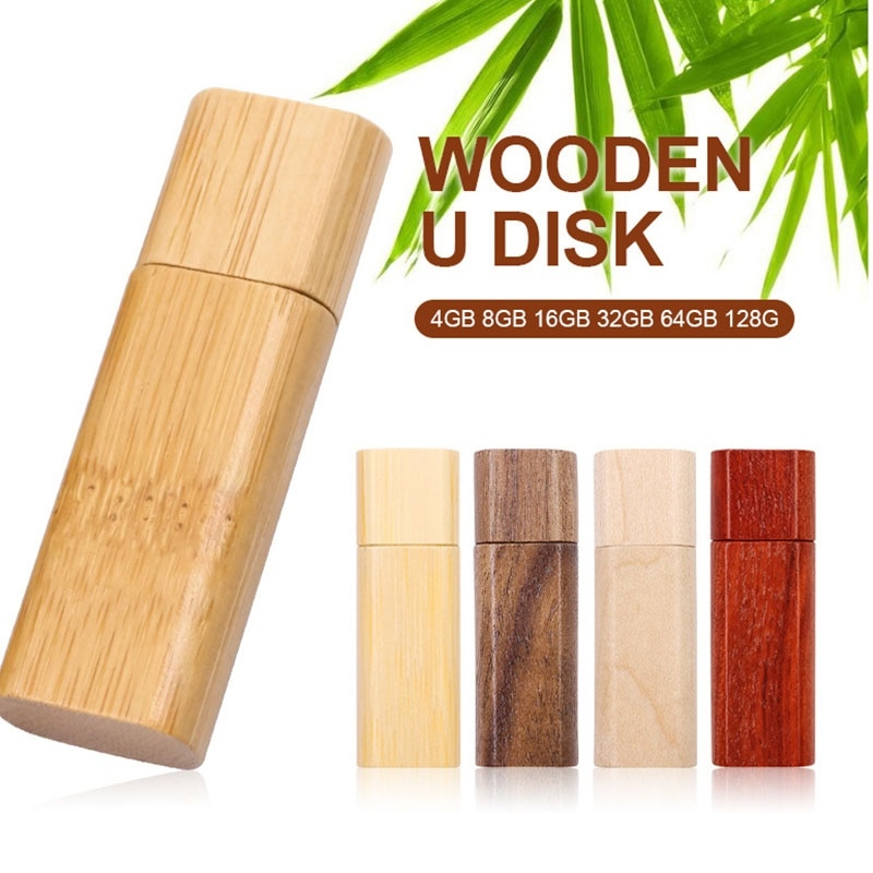 Comouter /& Networking 16GB USB 2.0 Wooden Creative USB Flash Drive U Disk Design : Bamboo Wood Rosewood Data Storage